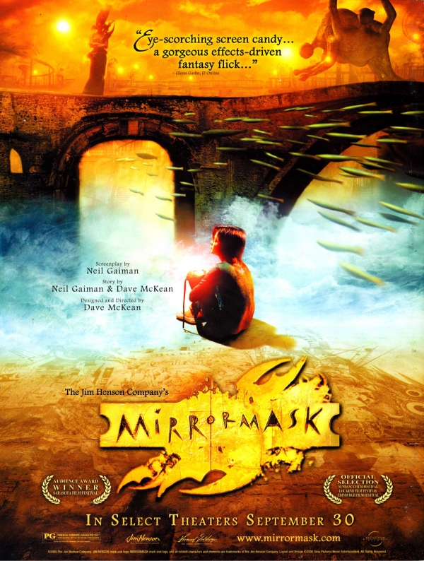 Mirrormask movie poster these fantastic worlds for Mirror 1 movie