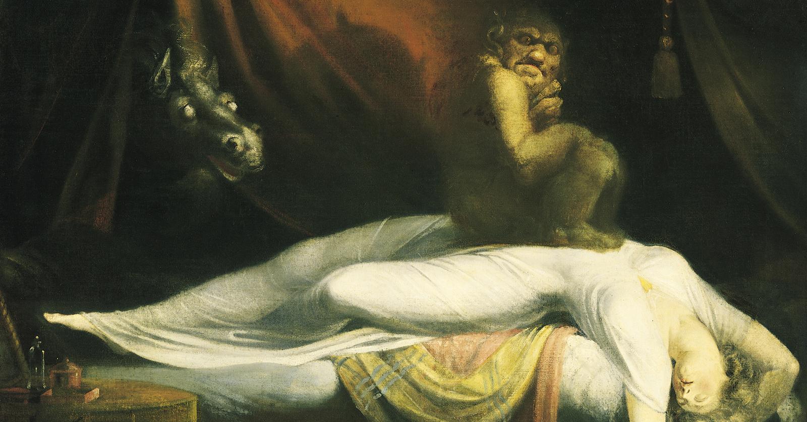 Fuseli The Nightmare, gothic