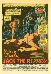 Robert Bloch's Jack The Ripper, journey into mystery 2003