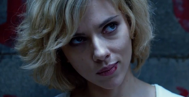 Lucy, Scarlett Johansson, Top SF Movies 2014